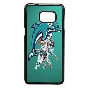 Samsung Galaxy S6 Edge Plus Phone Case Black Dolphin WQ5RT7579908