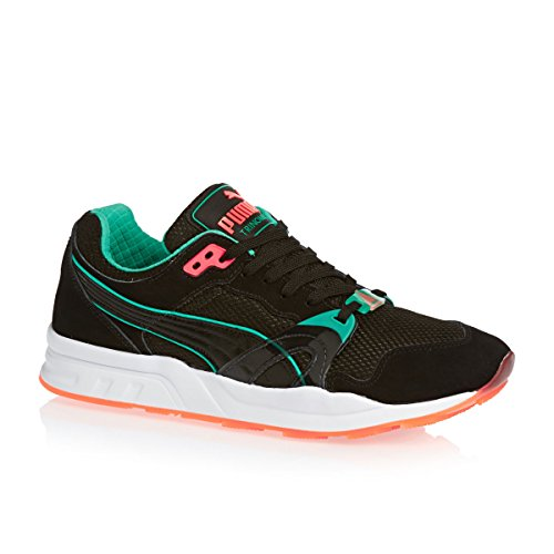 Puma Trinomic XT1 Elite Men's Trainers Sneaker Trainers 359038 03 black fluo - negro y azul