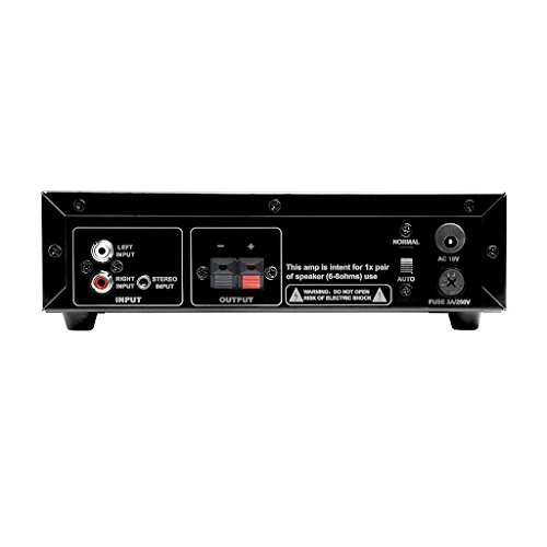 OSD Audio SMP60 Compact 75W Class A/B Mono Subwoofer Amplifier w/ Variable High Cut Filter and Volume Control