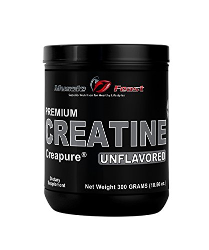 Creapure® Creatine unflavored 300 Grams