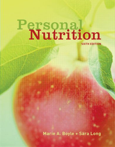 [PDF] Personal Nutrition Free Download | Publisher : Thomson Wadsworth | Category : Cooking & Food | ISBN 10 : 0495019348 | ISBN 13 : 9780495019343