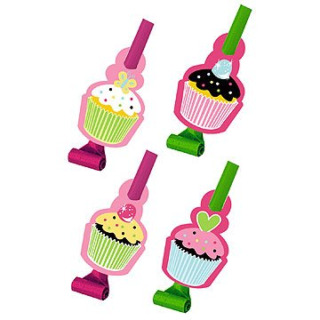 Creative Converting Sweet Treats Birthday Party Blowouts, 8 Count]()
