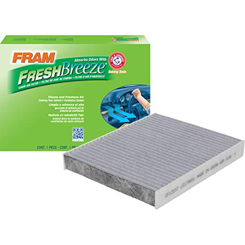 FRAM CF12157 Fresh Breeze Cabin Air Filter with Arm and Hammer