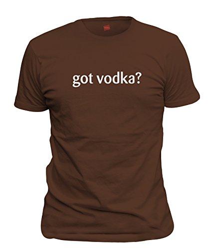 Chocolate Milk Vodka (ShirtLoco Men's Got Vodka T-Shirt, Dark Chocolate Medium)