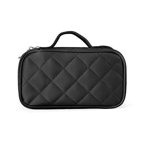Makeup Bag for Women With Mirror,LOMEZI Pouch Bag,Makeup Brush Bags Travel Kit Organizer Cosmetic Bag