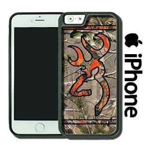 Ships From U S A Country Orange and Camo Buck Iphone 6 Plus + Snap-on Case