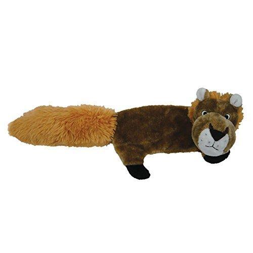 Pet Lou 00943 FLAT Body Dog Chew Toy, 30-Inch Lion by petlou, Inc.