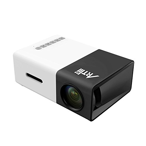 Mini-projector-ARTLII-1080P-Portable-LED-Pocket-Projector-Multimedia-Home-Cinema-Theater-Ideal-for-Video-TV-Movie-Party-Game-Outdoor-Home-Entertainment
