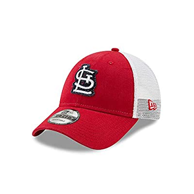 New Era St. Louis Cardinals Team Truckered 9FORTY Adjustable Hat/Cap