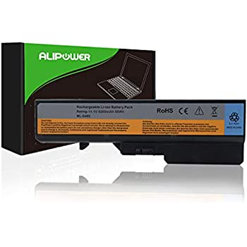 Alipower Laptop Battery Replacement for Lenovo IdeaPad G460 G560 Series V360 V370 V470 Z460 Z465 Z565 - fits P/N 57Y6454 57Y6455 L09C6Y02 L09M6Y02 L09S6Y02 ...