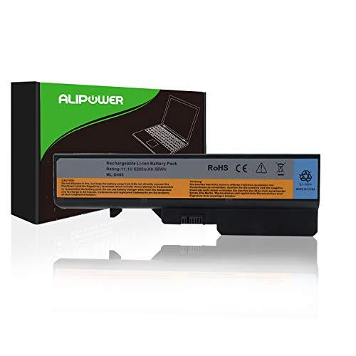 Alipower Laptop Battery Replacement for Lenovo IdeaPad G460 G560 Series V360 V370 V470 Z460 Z465 Z565 - fits P/N 57Y6454 57Y6455 L09C6Y02 L09M6Y02 L09S6Y02 L10C6Y02 L10P6Y22-12 Months ()