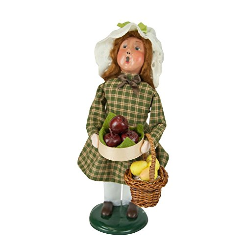 - The Carolers Byers' Choice Harvest Girl - New for 2017 - Signed by Joyce Byers #ZMS237G