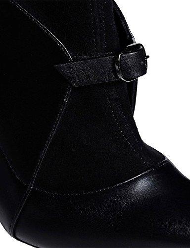 Botas Oficina uk9 us8 zapatos Black Mujer De cn44 La eu43 fiesta uk9 Noche us11 Y eu43 Stiletto Xzz us11 cn44 Trabajo Oklop vestido 5 Black Negro A Cn40 Uk6 5 Moda Black Tacón Vellón Eu39 vFqYYw