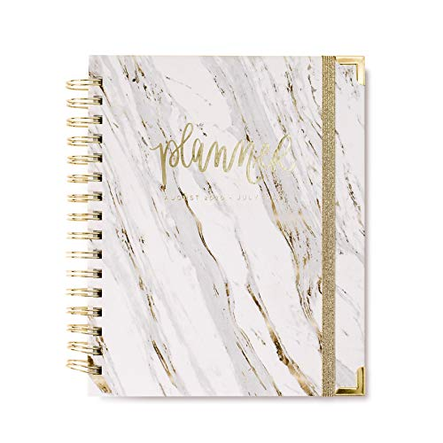 Sweet Water Decor 2020-2021 Academic Year Planner (August 2020 - July 2021) Inspirational Organizer, Weekly/Monthly Dated Hardcover Agenda Book (Marble)