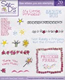 See D's Princess Party Theme 20 Rubber Stamps and Case # 50158 SugarLoaf
