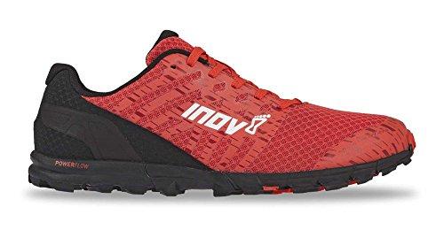 Inov8 Men's Trailtalon 235 Trail Running Shoes Red/Black M11 & Headband Bundle
