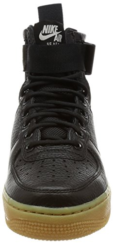 SF Mid Women's Black Brown Light AF1 Black Nike Basketball Shoe gum qxFwxSC