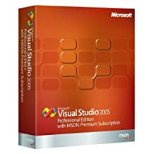 Microsoft Visual Studio Professional Edition with MSDN Premium Subscription 2005 Upgrade