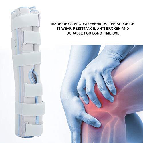 Komfortable Kniegelenkorthese, Hilfsregeneration, chirurgische Fixierung, geeignet für Knieschutz und Erholung (L)