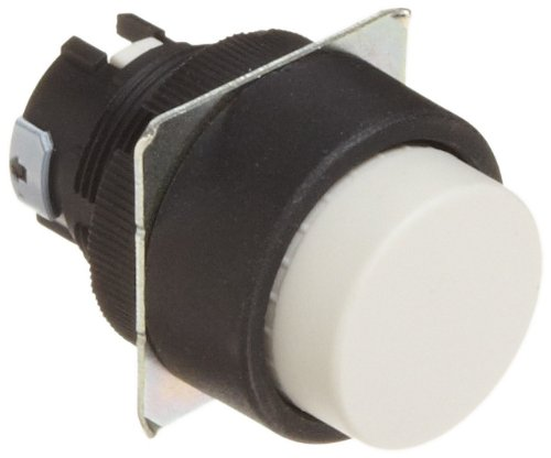 Omron A22 Series Projection Type Push Button IP65 Oil-Resistant Omron A22-TW Projection Type Pushbutton White final carrera ind Round Non-Lighted