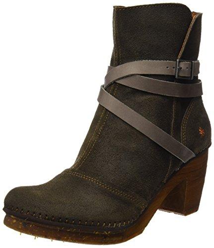 Art Ladies Amsterdam Short Boots Khaki (cera A Piombo)