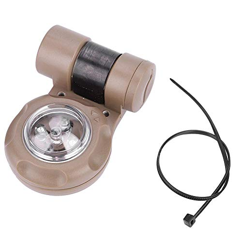 Vip Signal Light - T-best LED Safety Signal Light,Tactic Survival Distress Signal Light 3+2 Infrared Green Constant Lighting Flashlight(Tan)