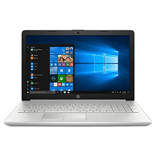 HP 7th gen 15.6-inch Laptop Windows 10 : Home/Natural Silver