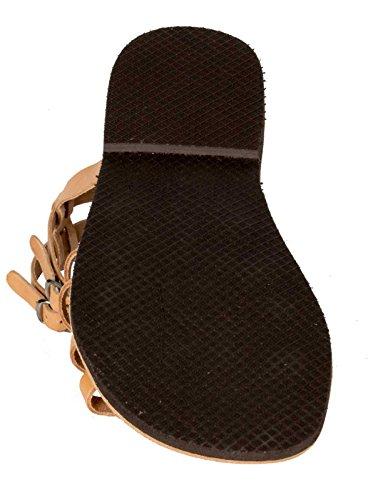 Bianco Pelle Colore Nero Marrone Romano Vera Dalla 36 Dimensione Grecia Romi Beige Premium Sandali Di 47 wAaqF1xv