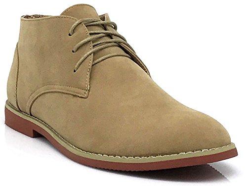 Men Classic Chukka Desert Oxfords Boots (Dkt) (11, Sand)