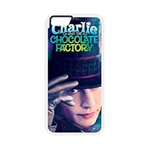 Charlie and the Chocolate Factory iPhone 6 4.7 Inch Cell Phone Case White X4G3WJ