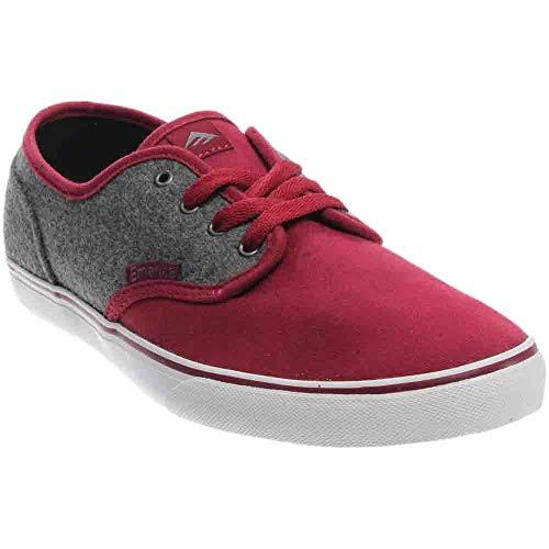 - Emerica Mens Wino Cruiser Skate Casual Red 6
