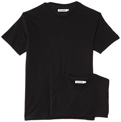 Ben Sherman Men's N5_3000_BS Vest, Black, Medium