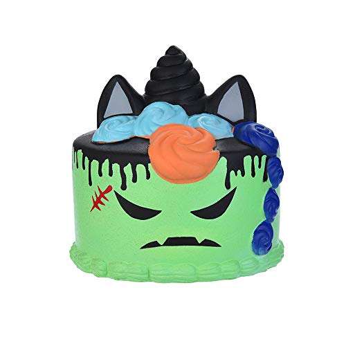 Soft Stress Reliever Toys,Squishy Halloween Demon Cake Scented