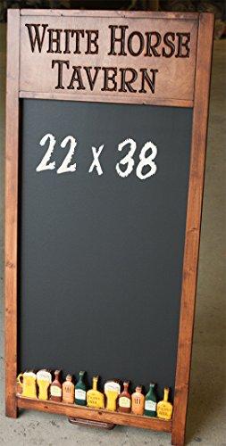 Custom Beer Restaurant, Bar and Kitchen Chalkboard by Piazza Pisano Art by Al Pisano