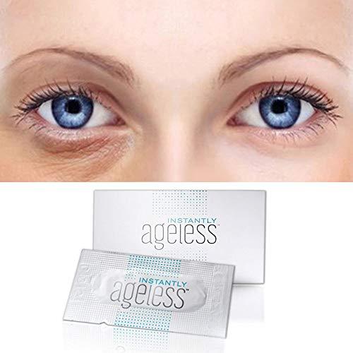 50pcs Instantly Jeunesse Ageless Eye Cream Anti-Aging Moisturizing Whitening Hyaluronic Acid Original Liquid Argireline