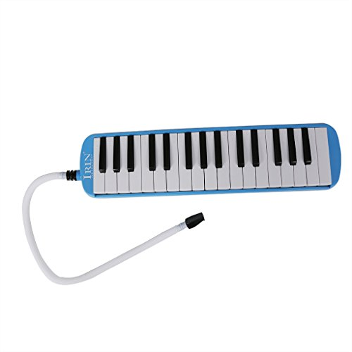 Blueseason 32 Key Piano Style Melodica With Carrying Bag For Music Lovers Beginners Gift,Blue by Blueseason