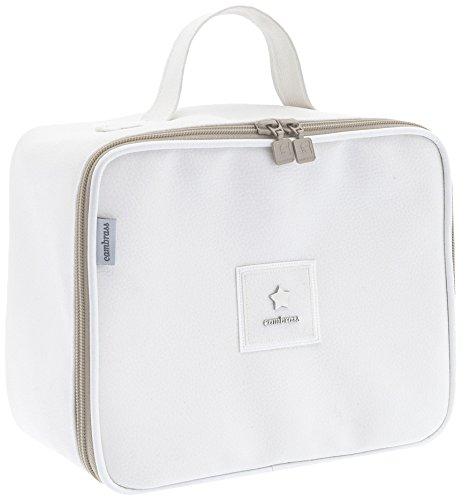 Cambrass Basic - Bolso maternal, 16 x 25 x 21 cm, color beige