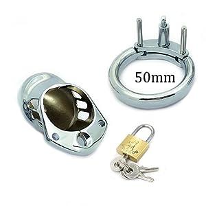 HXC_TECHA Male Enhancement Exercise Bands- 50mm Size - Flexible - 100% Premium Quality Iron Chrome Plating 001-50