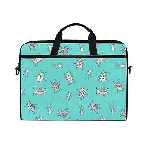 Texas Apple Sauce Dragonflies Lightweight Travel Business School Computer Bag Laptop Briefcase Shoulder Bag Protective Cover for Men and Women