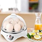 SIMPLETASTE 7 Capacity Electric Cooker for Hard or Soft Boiled, Poached Eggs or Omelets with Auto Shut Off Feature, [Upgrade Version]