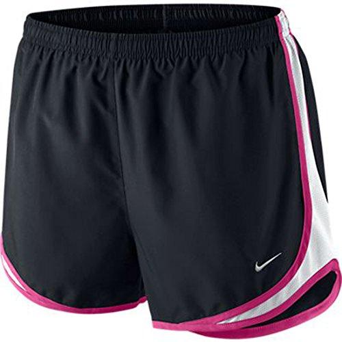 Nike Damen Tempo Shorts BLACK/WHITE/VIVID PINK/MATTE SILVER