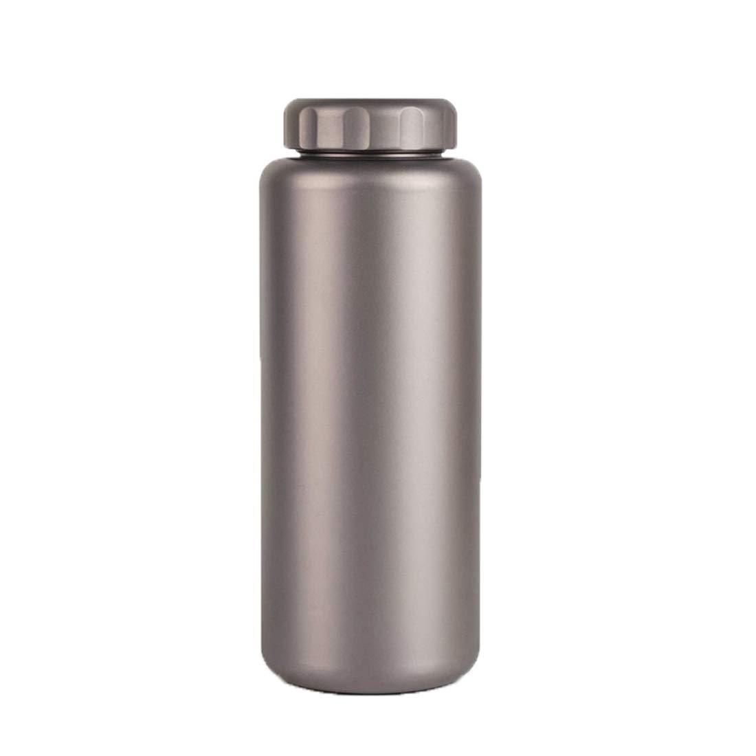 Zebuakuade 1L Titan Sport Wasserflasche Leichte Tragbare Outdoor-Wasserkocher