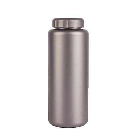 ZLXHZANHJZ Botella de agua deportiva de titanio de 1 litro ...