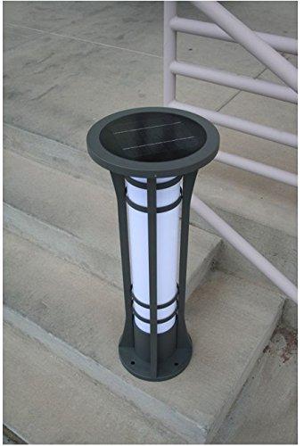 Premium Column Solar Bollard Light By Yardbright