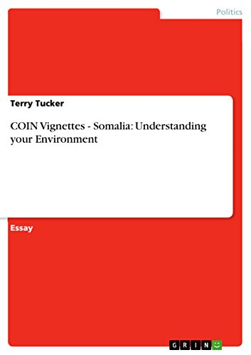 COIN Vignettes - Somalia: Understanding your Environment