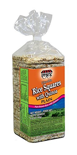 Cake Rice Brown (Paskesz Ultra Thin Rice Cakes with Quinoa (Pack of 3))