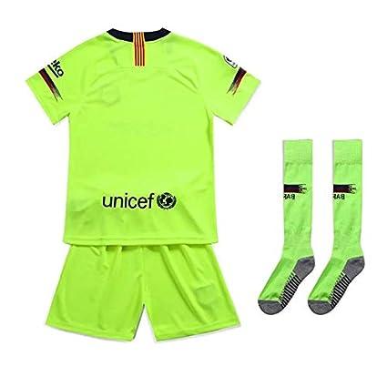 Byzs Abbigliamento da Calcio per Bambini Tuta Sportiva Coppa del Mondo European Cup Barcelona Fans Uniforme della Squadra
