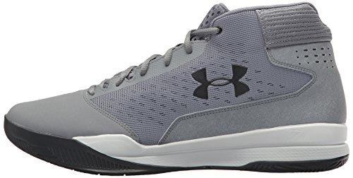 Basketball Ua Armour Under De Homme Gris Jet Zinc Pour Noir Chaussures Mid Grey a4tIq