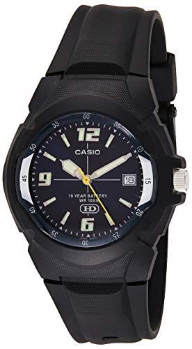 CASIO Men's MW600F-2AV Sport Watch with Black Resin Band