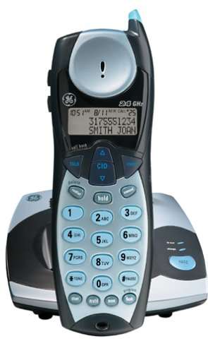 GE 27930GE3 2.4 GHz Analog Cordless Phone with Caller ID